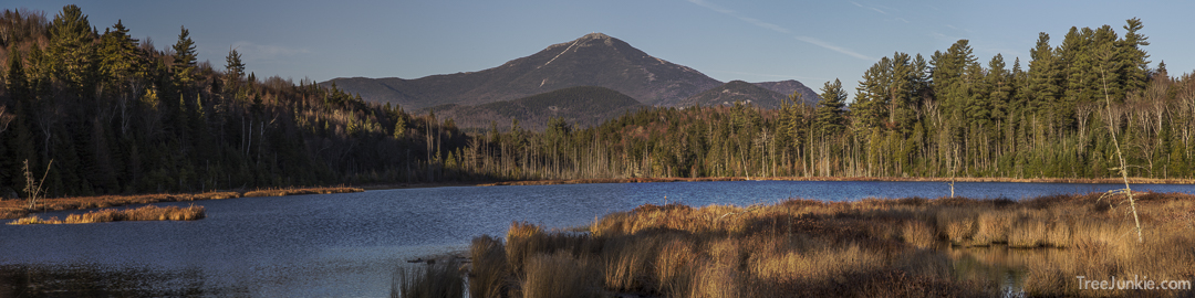 Whiteface From Big Cherrypatch Pond - Panorama