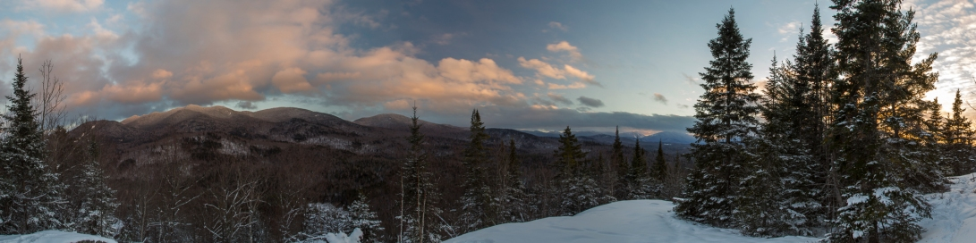 Winter Panorama From an Unnamed Bluff