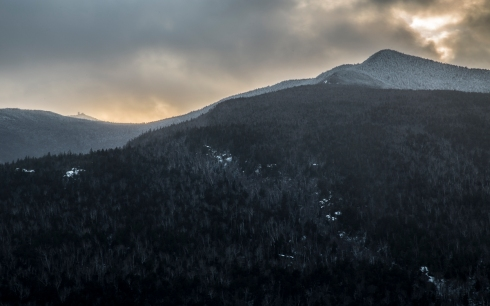 Esther and Whiteface Mountains