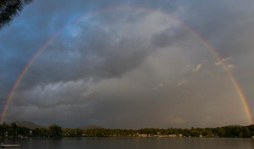 Saranac Lake Rainbow