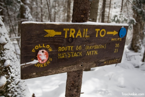 Trail To Sign